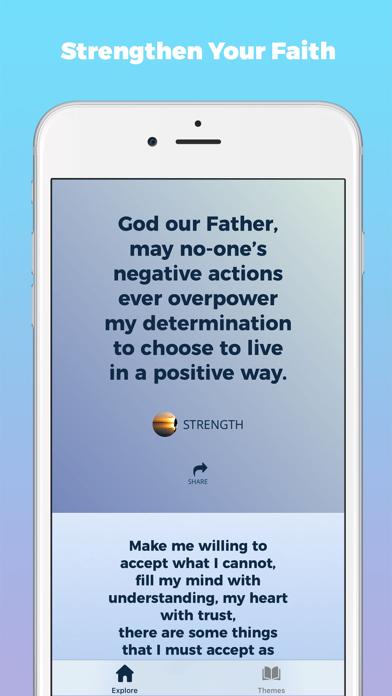 Prayer Daily Devotional Verses Screenshot