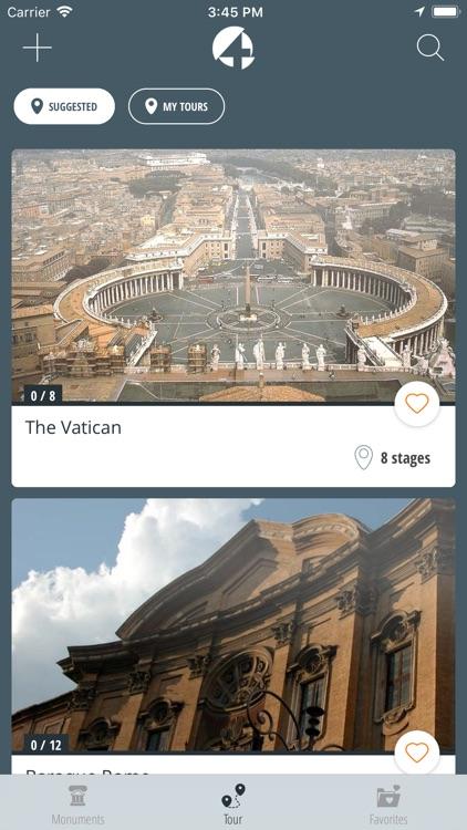 Crazy4Art Audioguide Rome screenshot-4