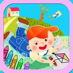 Coloring & Stickers World ABC
