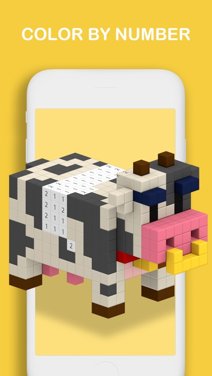 Voxel - Color by Number screenshot-7