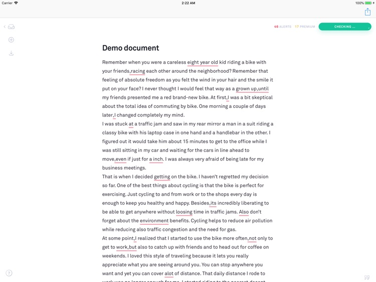 GreenNote for iPad