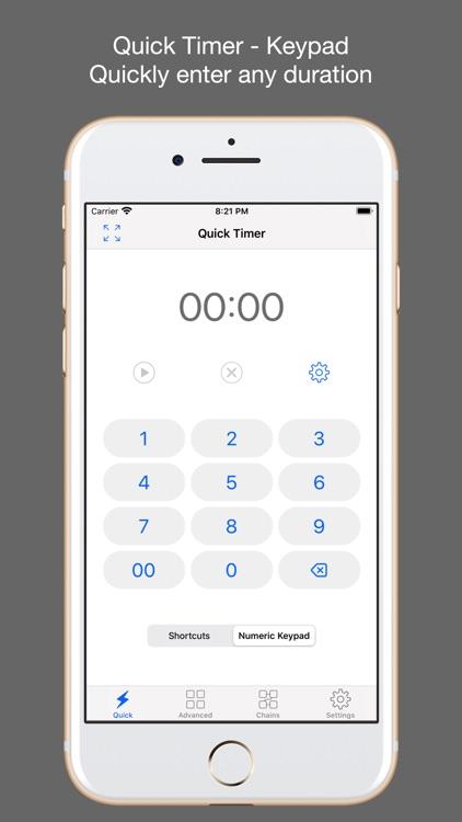 1Timer - Voice Timer screenshot-4