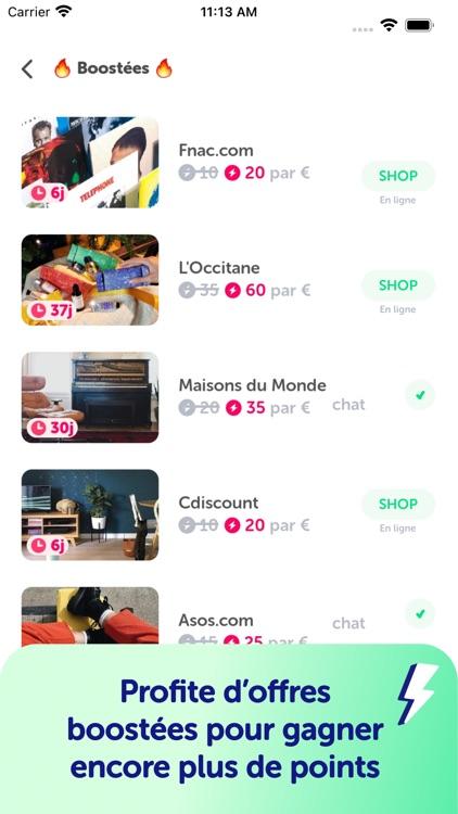 Joko : Cashback et bons plans screenshot-4