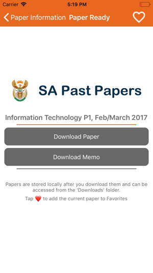Past Exam Papers -Grade 12 SA on the App Store