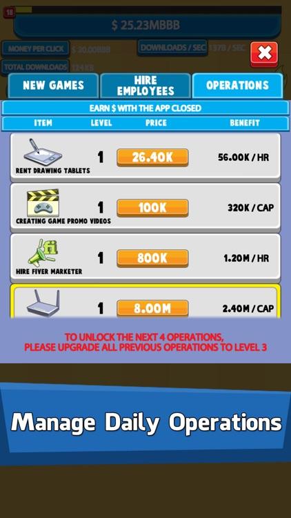 Video Game Tycoon: Tap Story screenshot-4