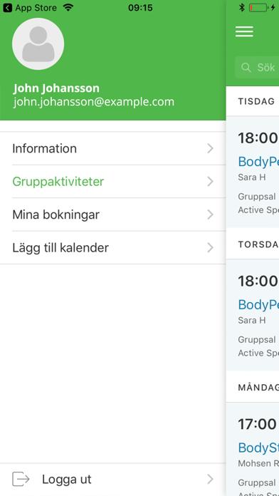 Active Sports Club screenshot one