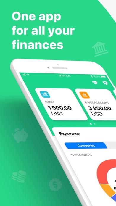 Wallet:個人財務&金銭追跡のスクリーンショット1