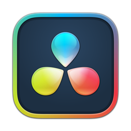Ícone do app DaVinci Resolve Studio