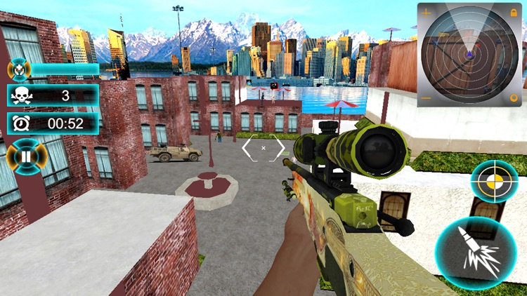 Sniper Counter War Attack 2018