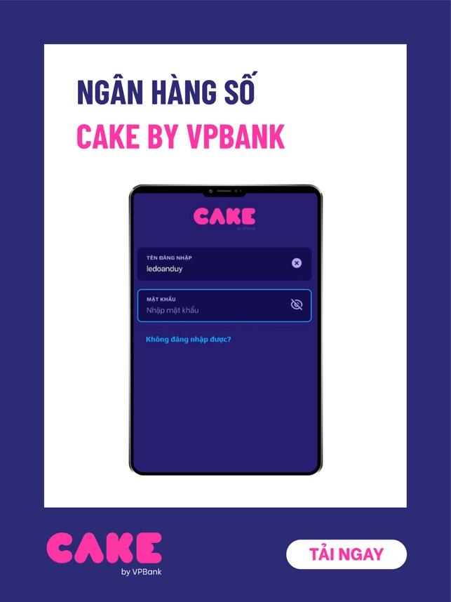 CAKE - Ngân hàng số