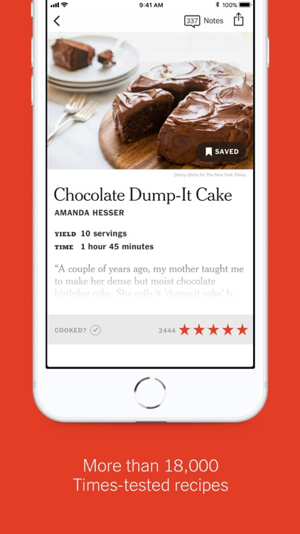 NYT Cooking screenshot-1