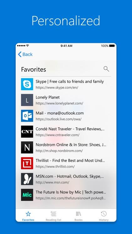 Microsoft Edge screenshot-4