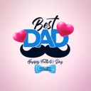Happy Fathers Day Stickers !