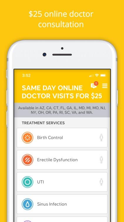 Lemonaid: same day online care screenshot-0