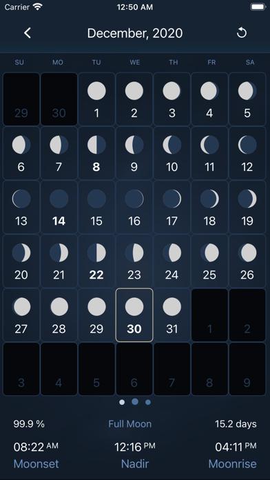 Deluxe Moon Pro • App & Widget ScreenShot4