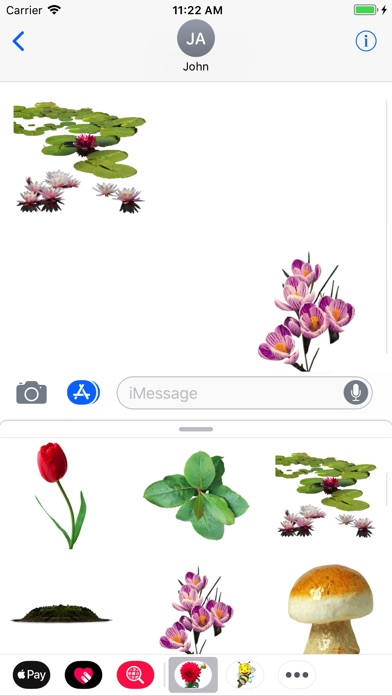 Fun Nature Stickers screenshot 1