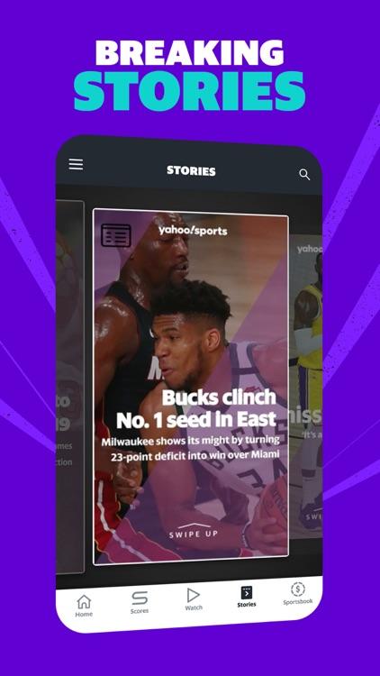 Yahoo Sports: Live Sports News screenshot-4