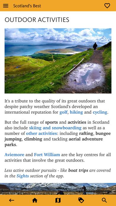 Scotland's Best: Travel Guide screenshot 8