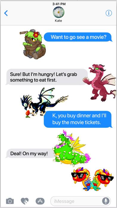 DragonVale Stickersのスクリーンショット4