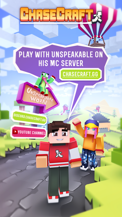 Chasecraft - Epic Running Game for windows pc