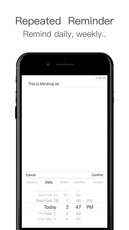 MinimaList- To Do List &Widget screenshot-6