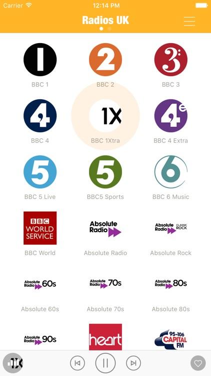 Radios UK FM (British Radio)