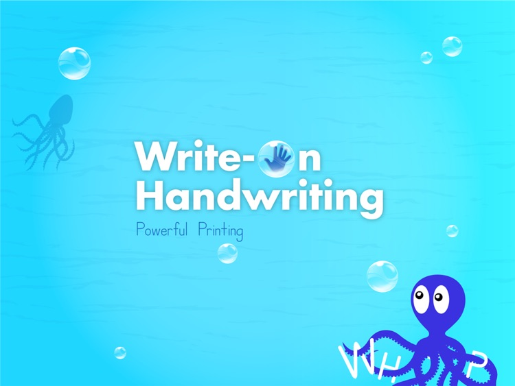 Write On Handwriting: Printing screenshot-4
