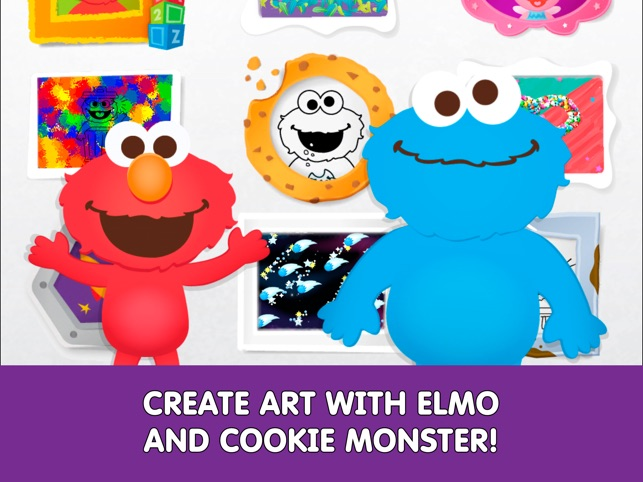Sesame Street Art Maker on the App Store