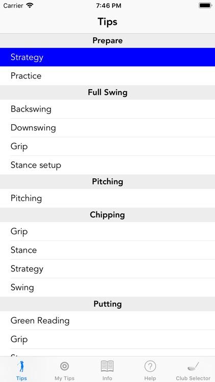 Golfmaster Tips screenshot-0