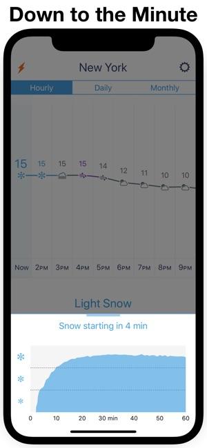 Weather Line • Screenshot
