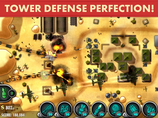 iBomber Defense Pacific Screenshots