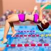 本物 夏 水泳 プール レース - iPadアプリ