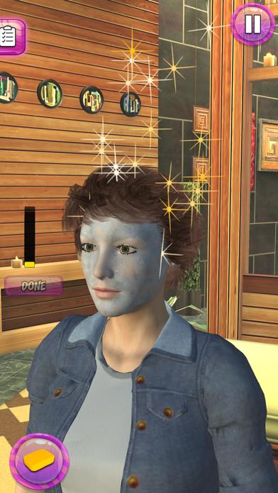 Girl Makeup Salon Spa Games 3D screenshot two