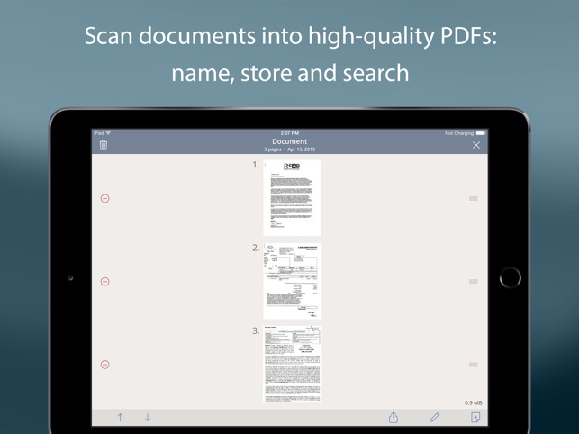 TurboScan™ Pro: PDF scanner Screenshot