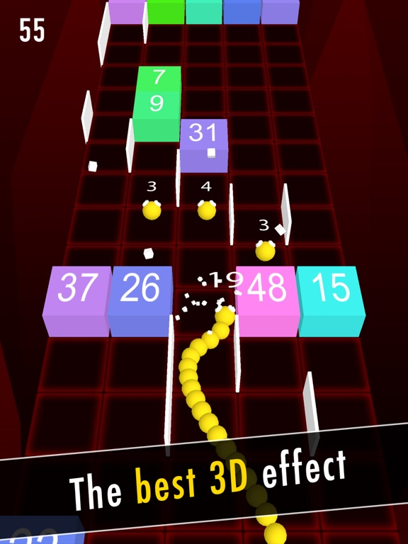 Balls Snake-Hit Up Number Cube-ipad-0