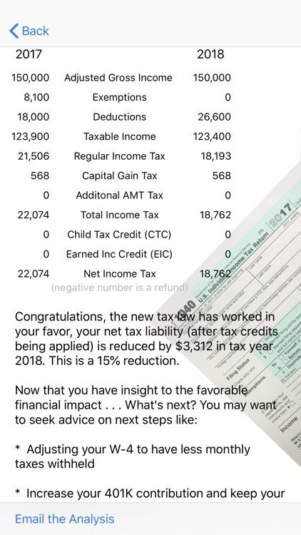 Tax Impact screenshot-4