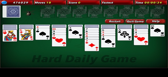 Spider Solitaire 2 Hd 4