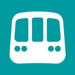 Chicago L Metro Map