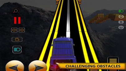 Screenshot of High Mountain Car Track Drivin App