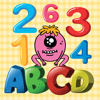 sutee weerapattananun - ABC & 123 Monsters For Toddler artwork