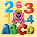 ABC & 123 Monsters For Toddler