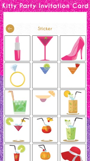Kitty party invitation card hd on the app store kitty party invitation card hd on the app store stopboris Image collections