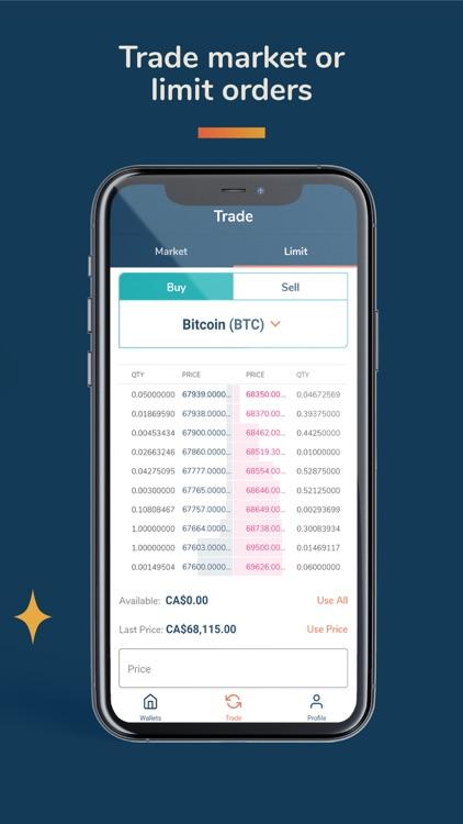 Bitbuy: Buy Bitcoin Canada screenshot-5