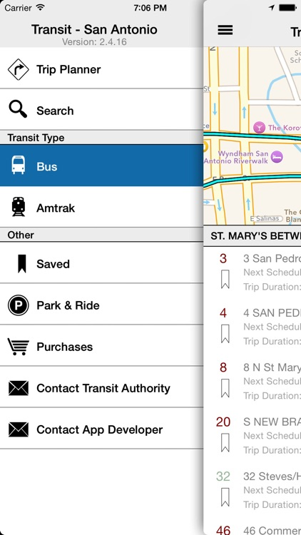 Transit Tracker - San Antonio screenshot-1