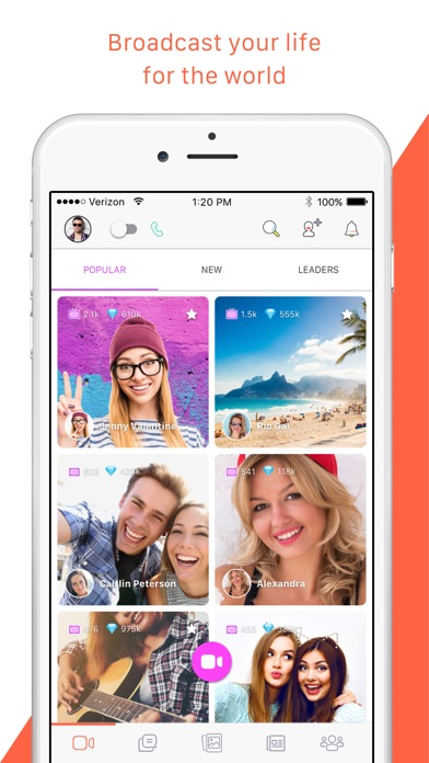 Download Tango - Live Video Broadcast for Pc