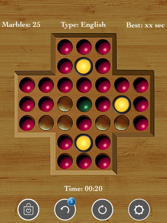 Brainvita Peg Solitaire <--> screenshot 7