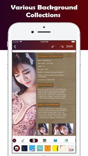u200ematrimonial biodata maker on the app store