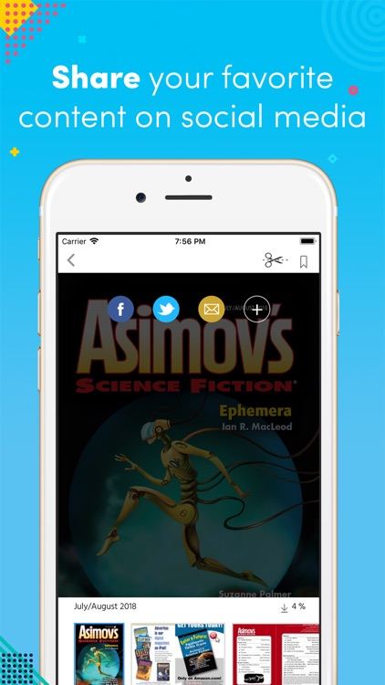 Asimov's Science Fiction screenshot-3