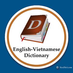 English-Vietnamese Dictionary.