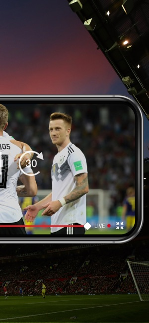 DAZN Sport Live Stream Screenshot